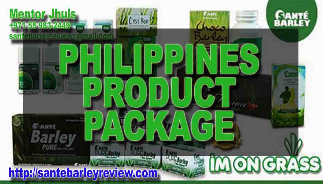 Philippines Product Package