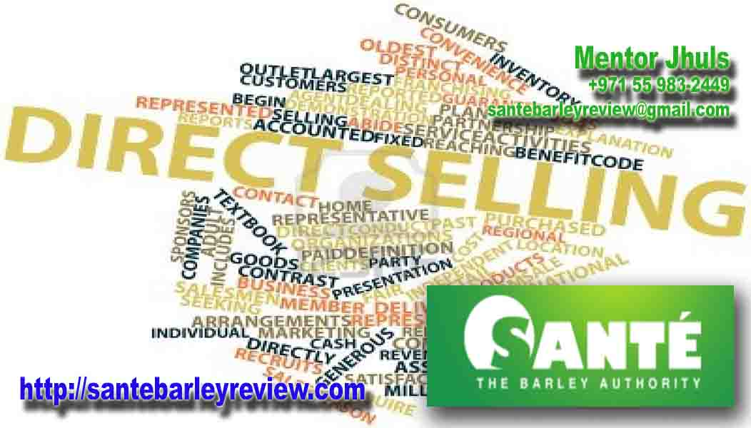 Direct selling with Sante Barley
