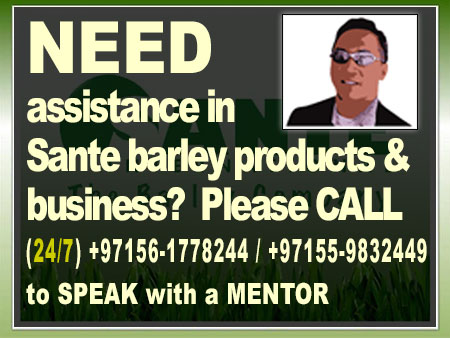 Serious about sante barley