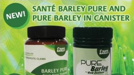 Sante Barley canisters