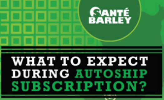 Sante Barley Autoship Program cover