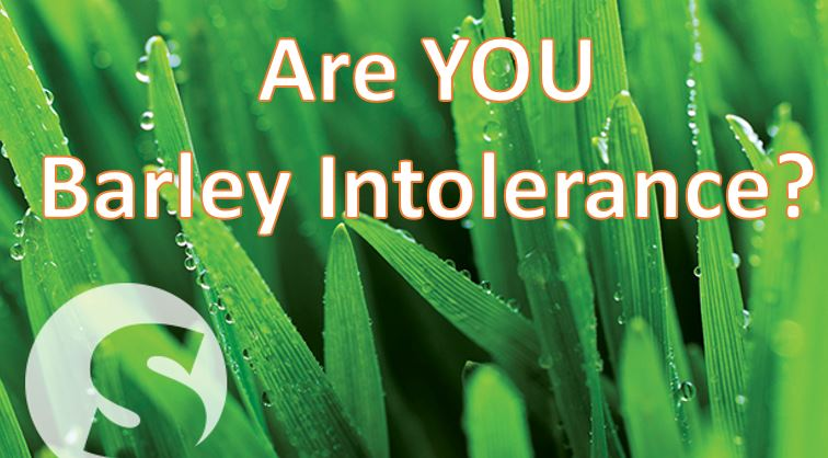 Are you barley intolerance