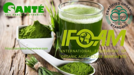 100% Natural Pure Young Certified Organic Barley Grass