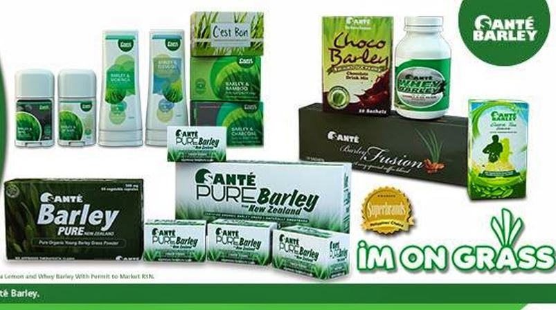 I M Not A Member Is Buying Sante Barley Products In The