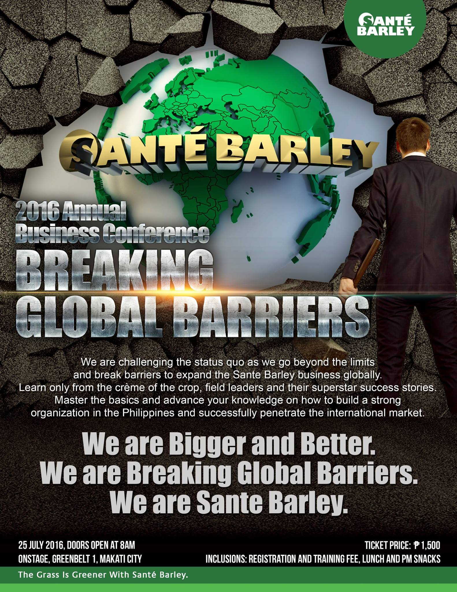 2016 Annual business Conference - Breaking Global Barriers