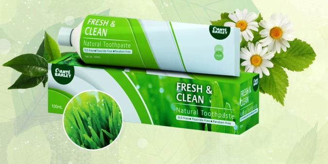 Fresh & Clean Natural Toothpaste