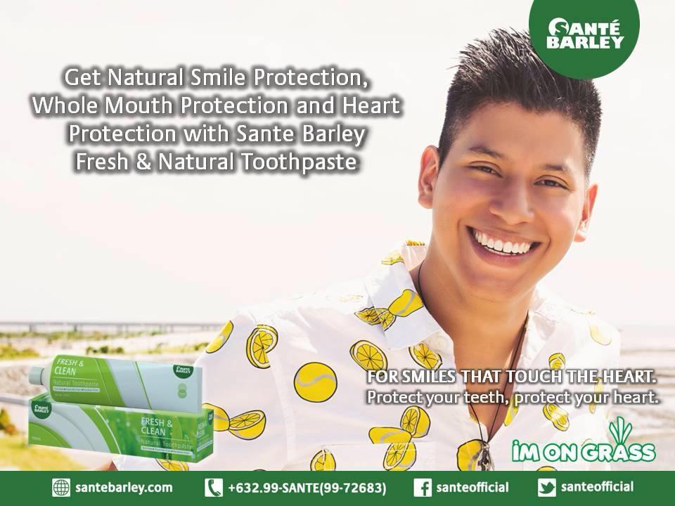 Sante Barley Fresh and Clean Toothpaste