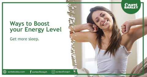 Ways to boost your energy level