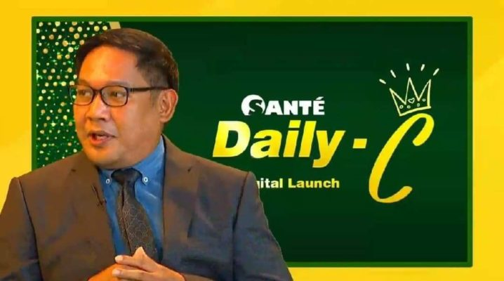 Joey Marcelo at Sante Daily-C Digital Launching