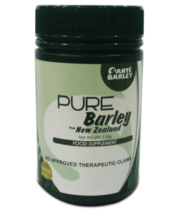 Santé Pure Barley in canister