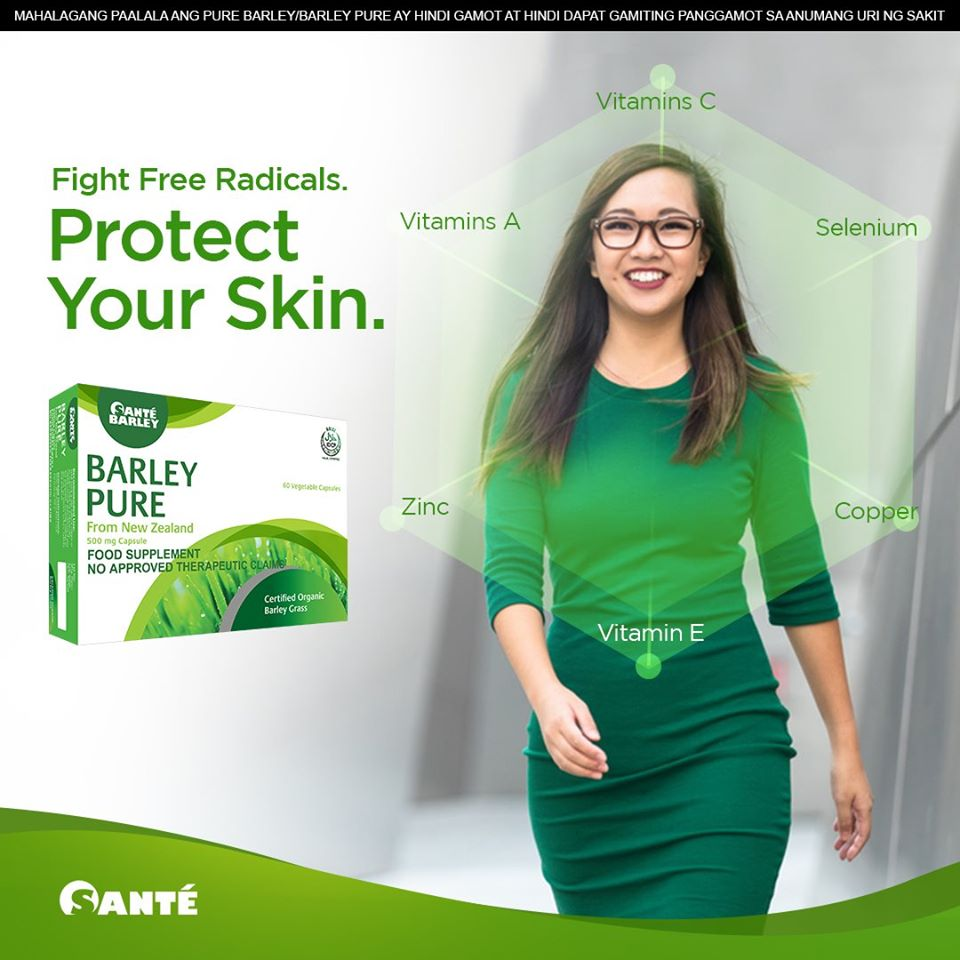 Barley Pure - Protect Your Skin