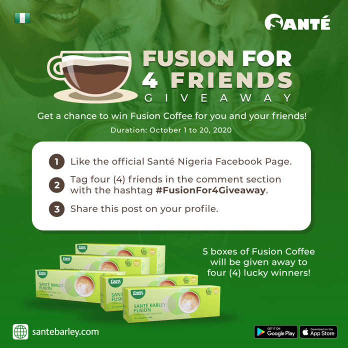 Fusion For 4 Friends Giveaway Promo