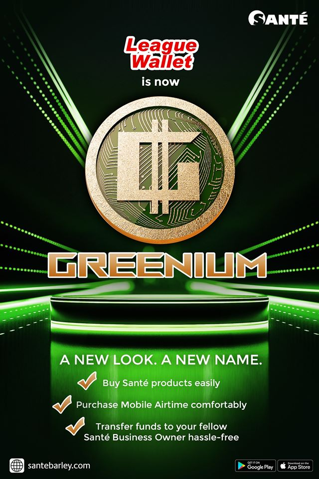 League Wallet is now Greenium