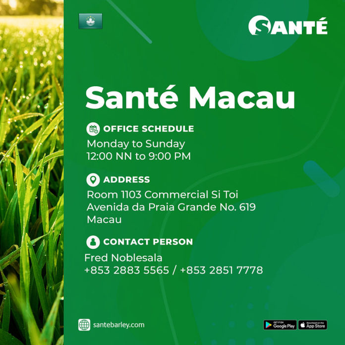 Sante Macau Address